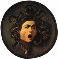 ΜΕΔΟΥΣΑ-Η ασπίδα με το κομμένο κεφάλι της Μέδουσας ζωγραφισμένη από τον Καραβάτζιο_blog